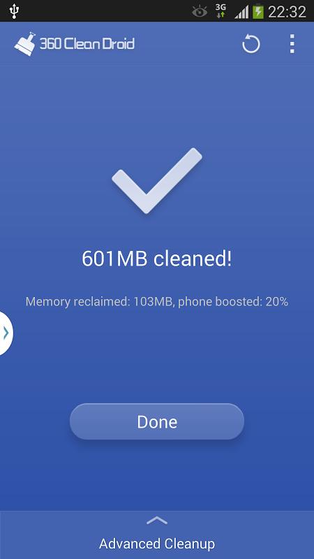 360 Clean Droid screenshot 2