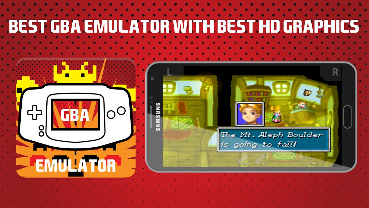 Emulator For GBA screenshot 1