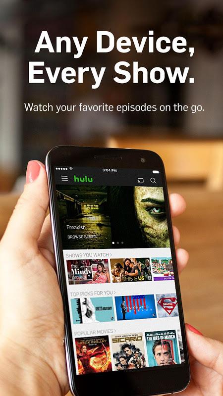 Hulu: Stream TV, Movies & more screenshot 1