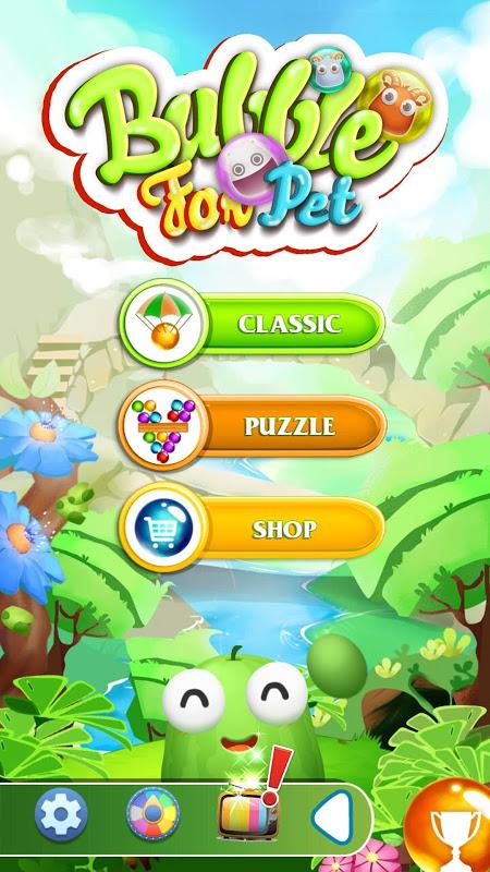 Bubble Shooter - Pet's Ball screenshot 2