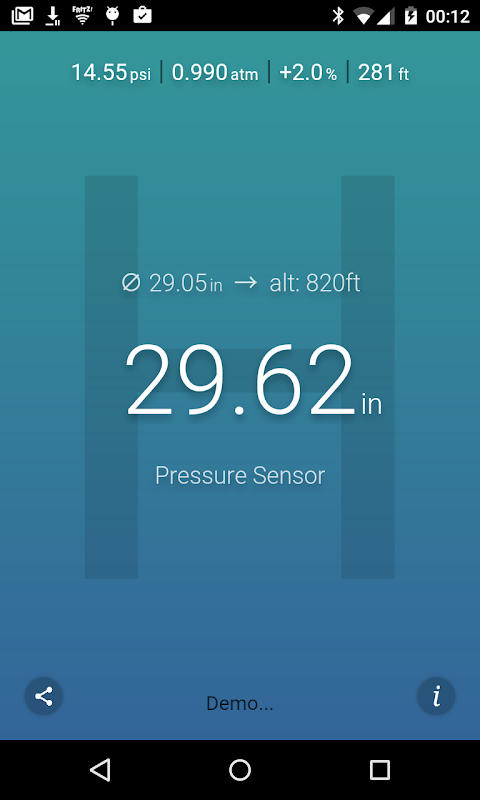 Air Pressure screenshot 2