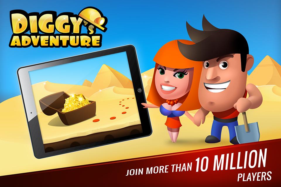 Diggy's Adventure: Puzzle E Labirinto De Minas 2D screenshot 1