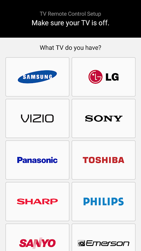 Peel Universal Smart TV Remote Control screenshot 1