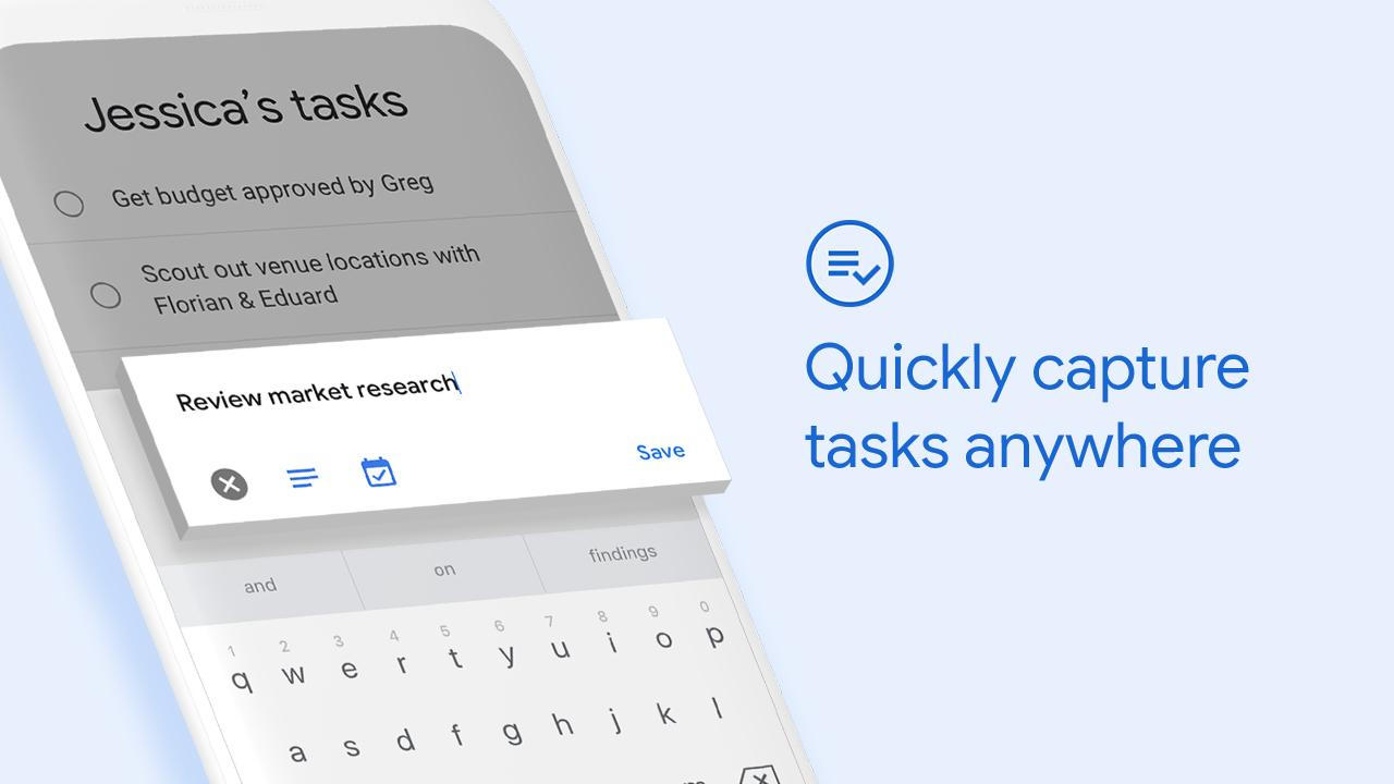 Google Tasks: Any Task, Any Goal. Get Things Done screenshot 1