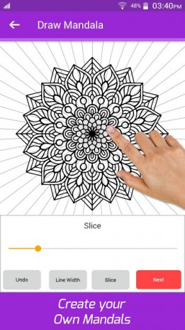 Coloring Art Book Mandala Drawing Painting Pages Screenshot 2