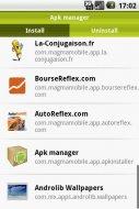 Apk Manager Screenshot