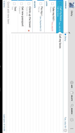 Tasks & Notes for MS Exchange Screenshot