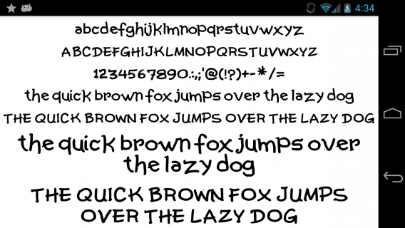 Fonts for FlipFont 50 Written 3 23 0 Download APK for Android - Aptoide