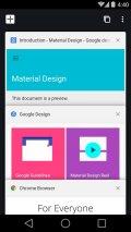 Chrome Beta Screenshot