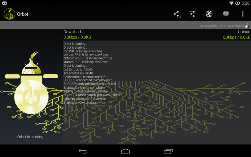 Orbot: Tor on Android screenshot 8
