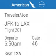 American Airlines screenshot 4