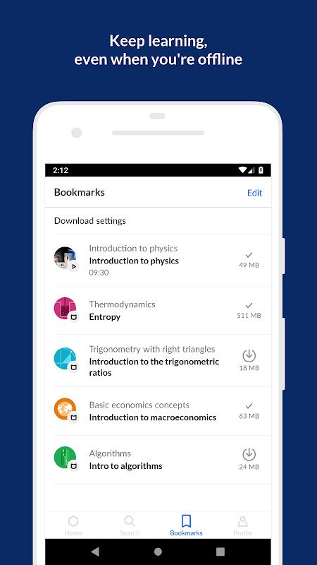 Khan Academy: Free Learning App screenshot 1
