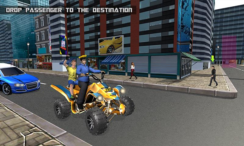 Taxi Cab Atv Quad Bike Limo City Taxi Driving Game 1 3 Download Android Apk Aptoide