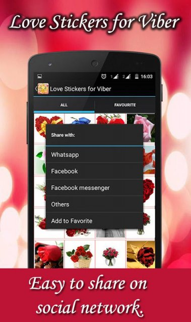 Love Stickers for Viber | Download APK for Android - Aptoide