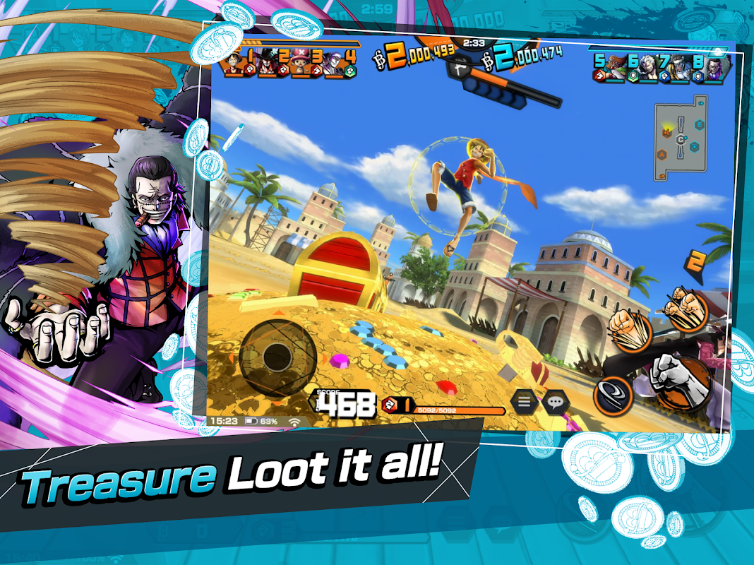 ONE PIECE Bounty Rush screenshot 2