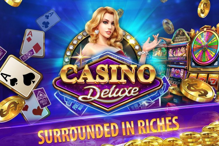 Casino Deluxe Vegas - Slots, Poker & Card Games 1.11.6 Android APK ...