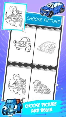Araba Boyama Kitabı 13 Android Aptoide Için Apk Indir