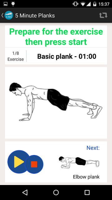 MINUTE PLANKS WORKOUT | Download APK for Android - Aptoide