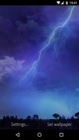 Lightning Storm Live Wallpaper 3
