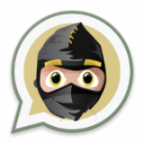 Ninja en Whatsapp Icon