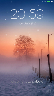 Lock screen(live wallpaper) screenshot 11