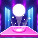 Tiles Hop Ball - Neon EDM Rush