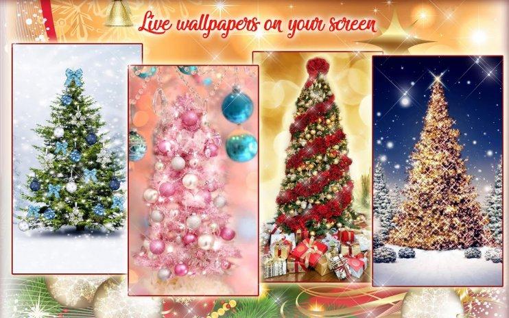 ... christmas tree wallpapers live free animated screenshot 9 ...