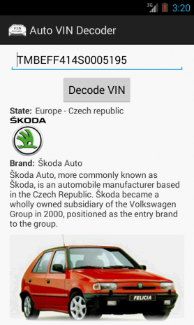 Auto Vin Check >> Auto Vin Decoder 1 6 Download Apk For Android Aptoide