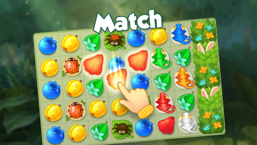 Bloomberry — match-3 design story makeover of home screenshot 10