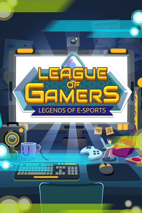 League of Gamers - Vire uma Lenda dos E-Sports! screenshot 1