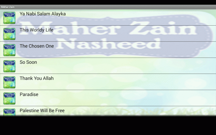 Maher Zain Nasheed Audio Video 1 1 Download APK for Android