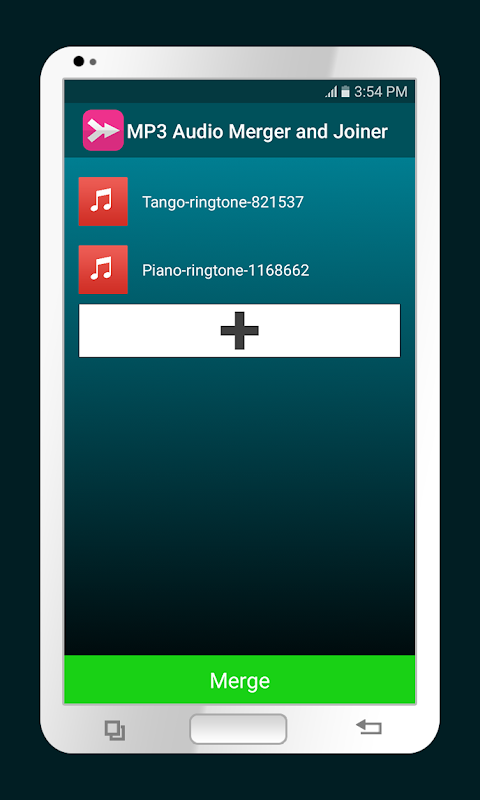 MP3 Audio Merger and Joiner screenshot 2