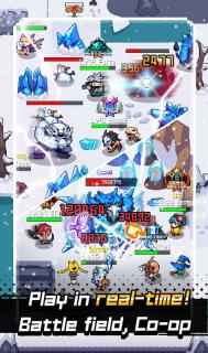 Grow Stone Online : 2d pixel RPG, MMORPG game screenshot 4
