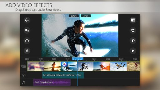 PowerDirector Video Editor App: 4K, Slow Mo & More screenshot 3