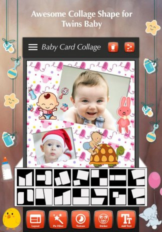 baby collage maker screenshot 4