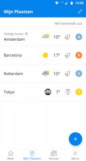 Weeronline: weer en regenradar screenshot 5
