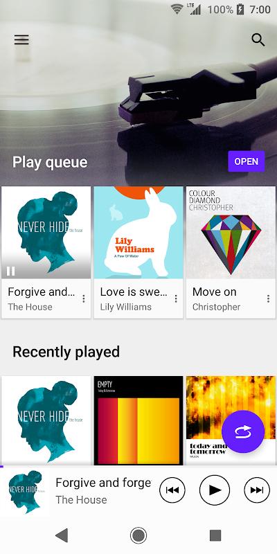 Music screenshot 1