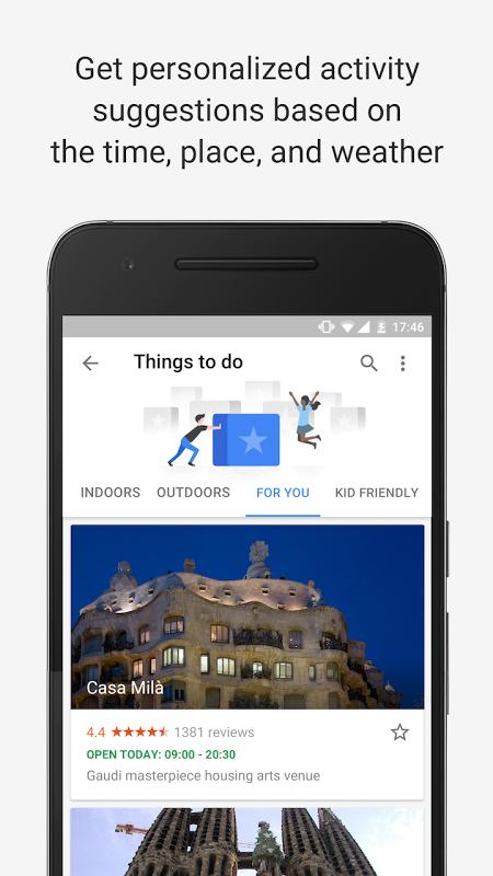 Google Trips - Planeador de viagens screenshot 2