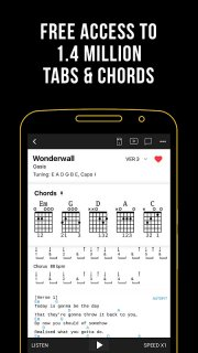 Ultimate Guitar Tabs & Chords screenshot 1