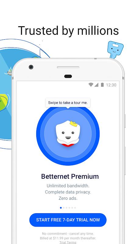 VPN Free - Betternet Hotspot VPN & Private Browser screenshot 4