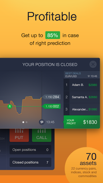 Option binary option apk
