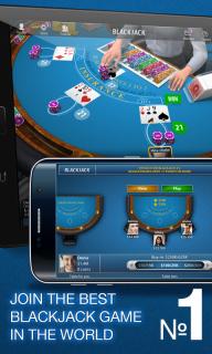 Blackjack 21 - Online Casino screenshot 1