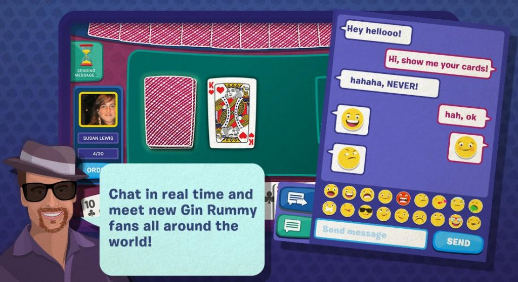 play gin rummy free online