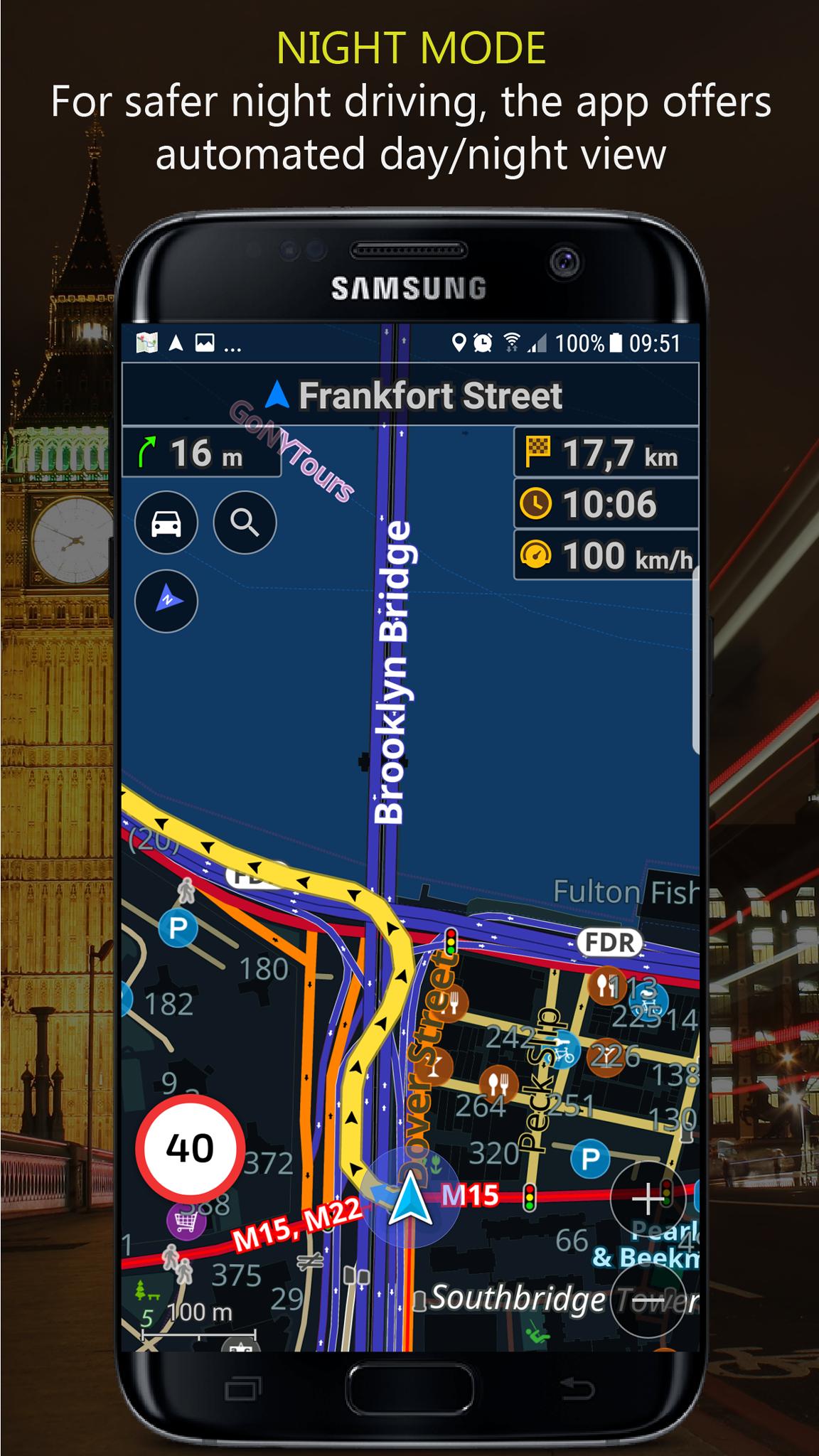 Navigator PRO: Offline GPS Maps screenshot 7