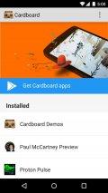 Cardboard Screenshot