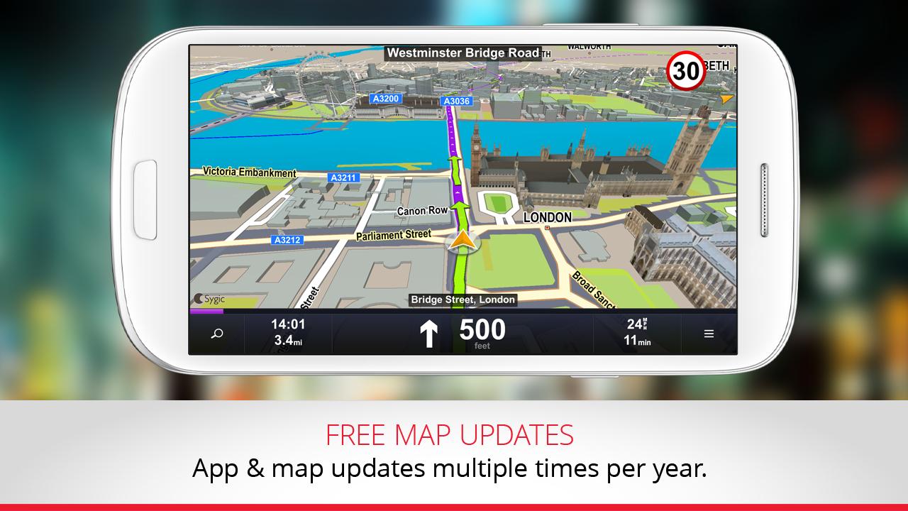 GPS Navigation & Traffic Sygic 14.3.0 Android APK ...