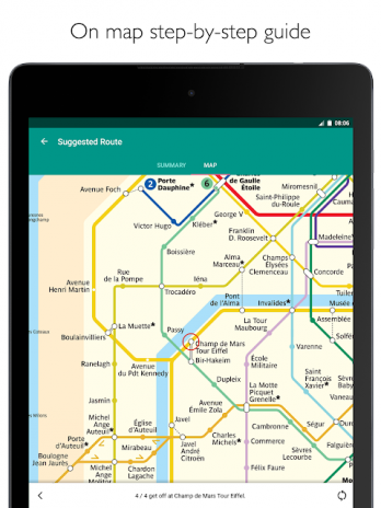 Paris Metro – official metro map and train times 1.1.11 Download APK ...