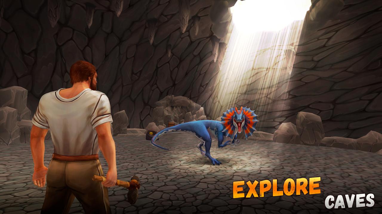 Jurassic Survival Island 2: Dinosaurs & Craft screenshot 2