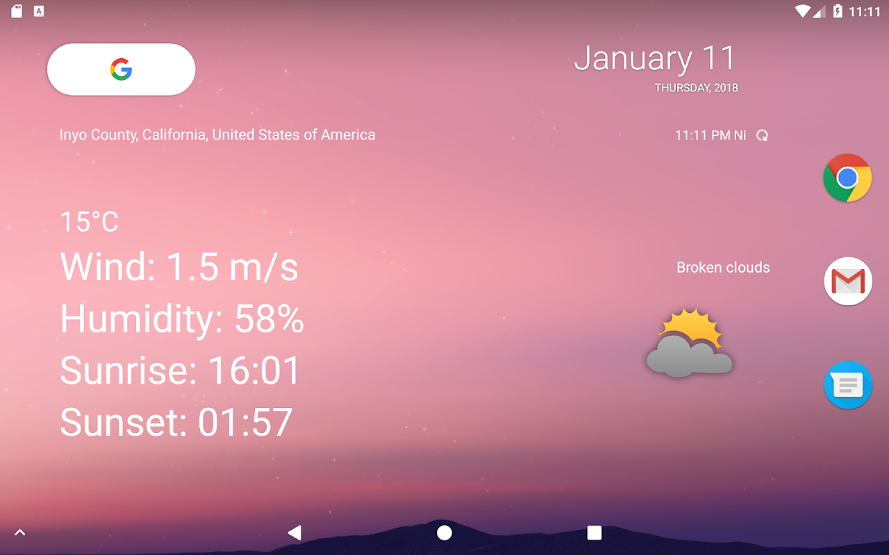 Your local weather screenshot 6