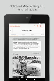 Historical Calendar - Events and Quizzes screenshot 9